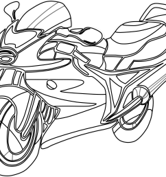 motorcycle clipart black and white free clipart [ 2555 x 2081 Pixel ]