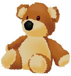 teddy bear clip art 2 image 13512 [ 1739 x 1781 Pixel ]