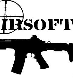 airsoft gun clipart [ 1182 x 815 Pixel ]
