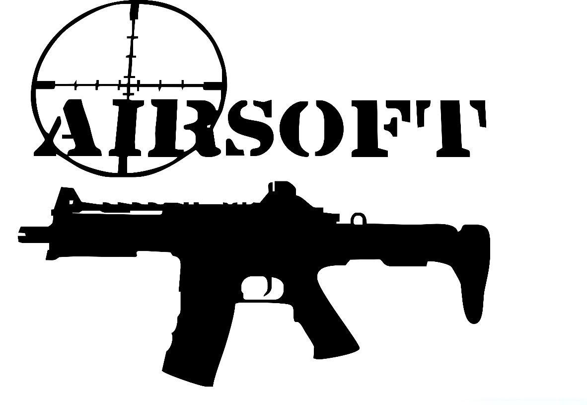 hight resolution of airsoft gun clipart