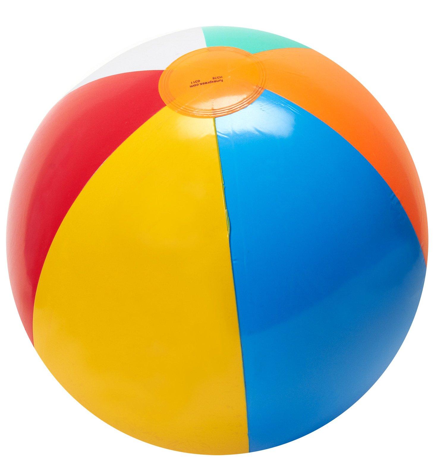 hight resolution of beach ball clip art image 18169