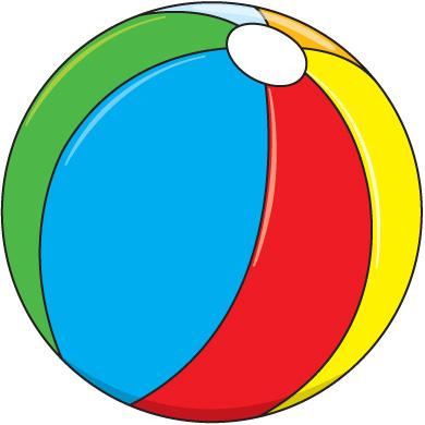 free beach ball clip art