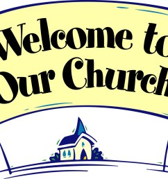 fall church welcome clipart [ 1933 x 1298 Pixel ]