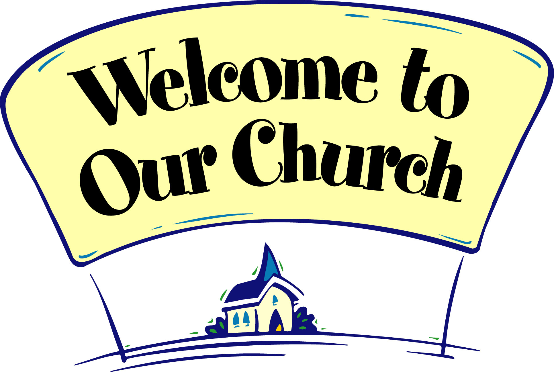 hight resolution of fall church welcome clipart