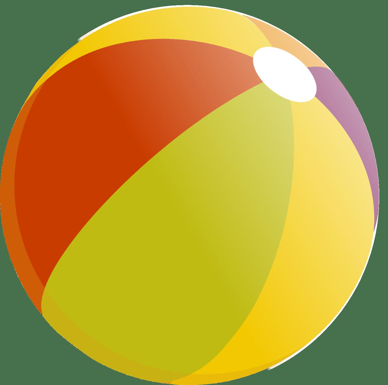 hight resolution of beach ball clip art image 18132
