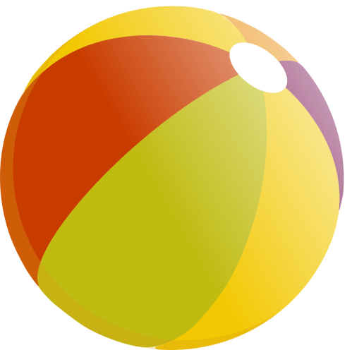 small resolution of beach ball clip art image 18132