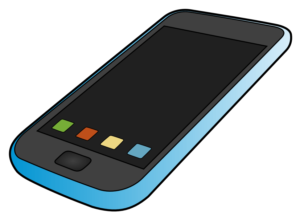 medium resolution of iphone cell phone clipart free clipart images 5