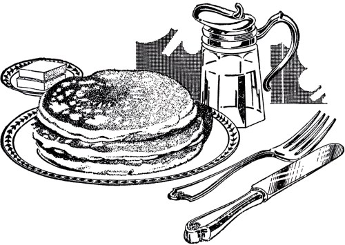 small resolution of vintage breakfast clipart