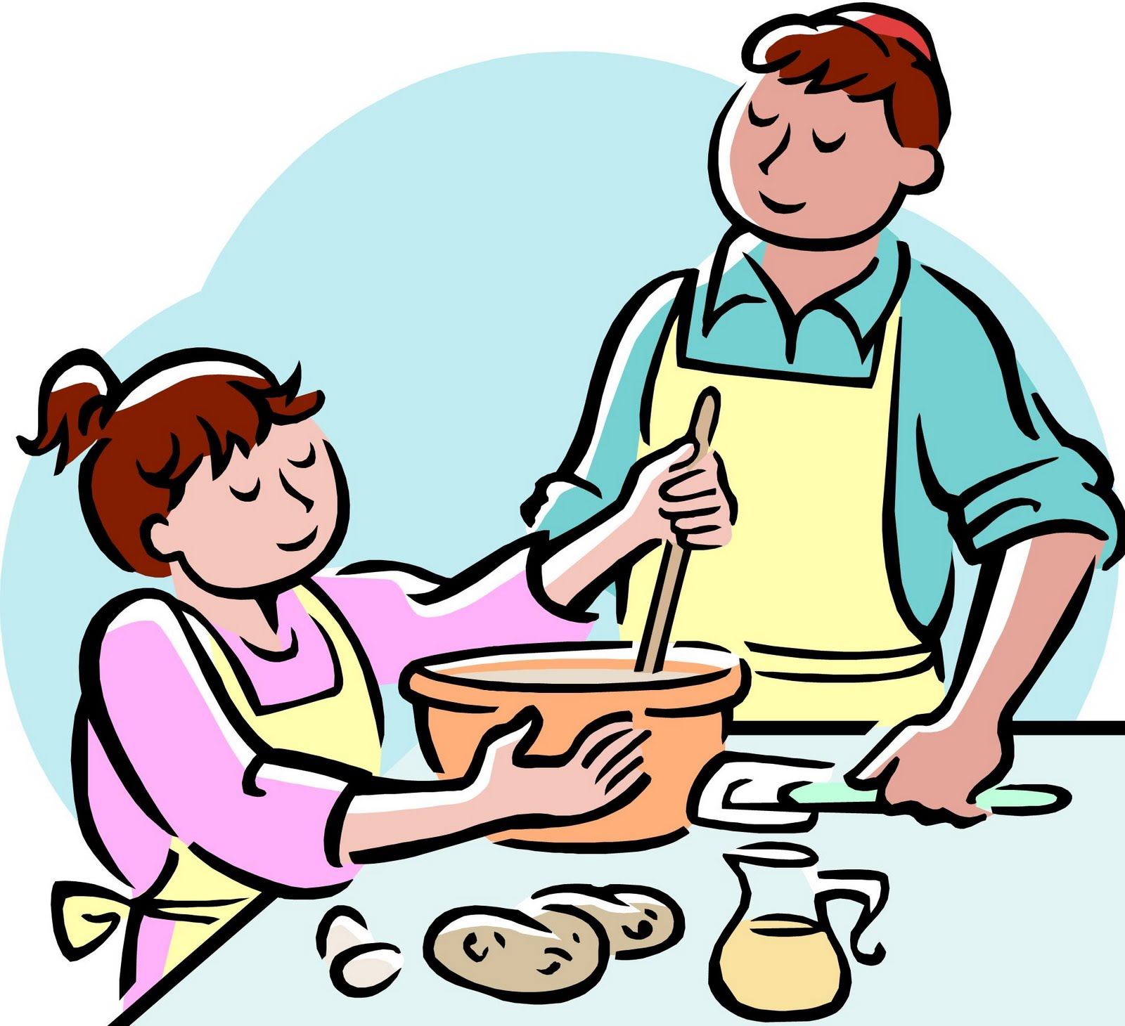 hight resolution of cooking clipart image 22662