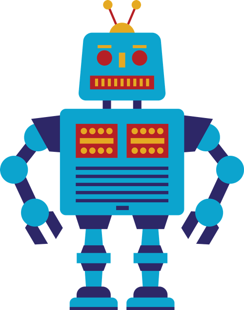 small resolution of robot clip art free clipart images