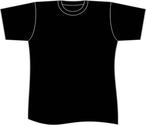small resolution of t shirt plain black shirt template clipart free to use clip art resource