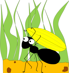ant clipart hostted 2 [ 1398 x 1623 Pixel ]