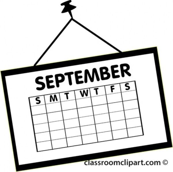 september clip art free
