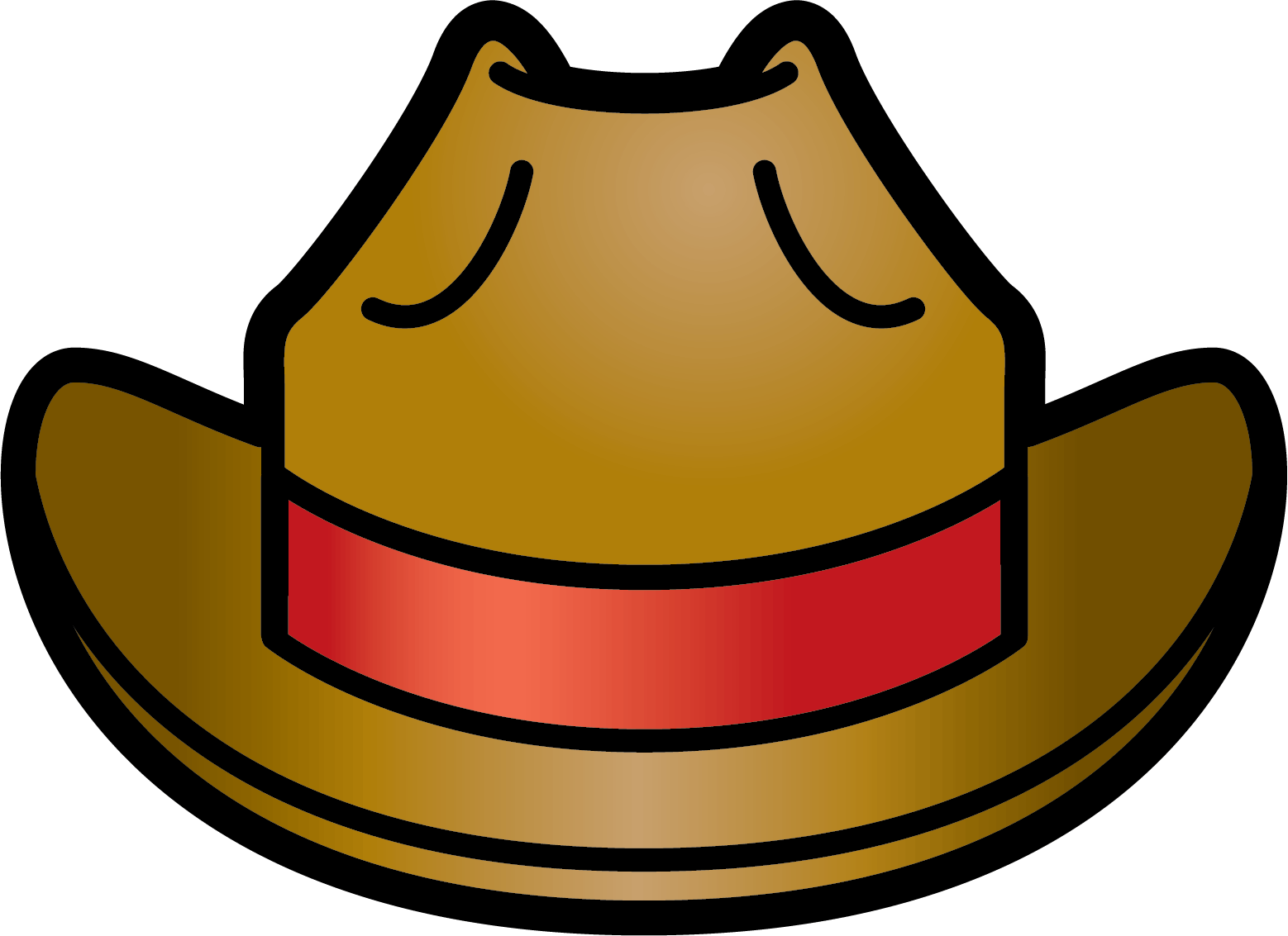 hight resolution of cowboy hat bluewboy hat clipart kid 2