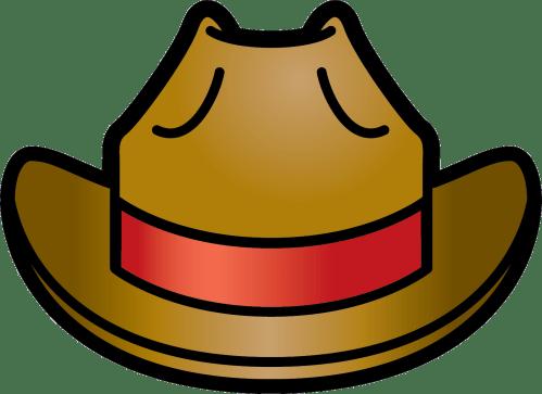 small resolution of cowboy hat bluewboy hat clipart kid 2