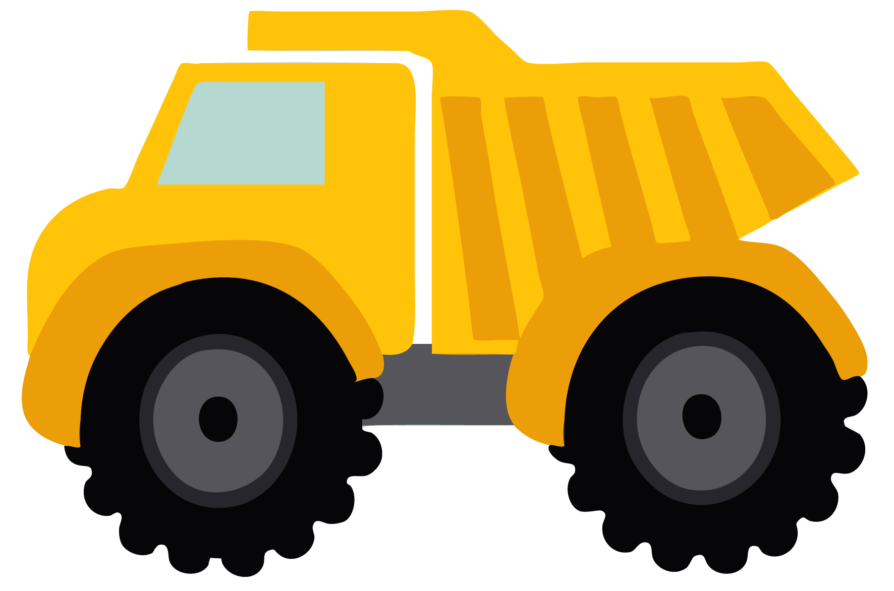 hight resolution of dump truck clipart black and white free 3