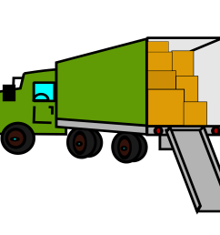 moving truck clipart the cliparts [ 2400 x 1697 Pixel ]
