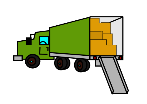 small resolution of moving truck clipart the cliparts