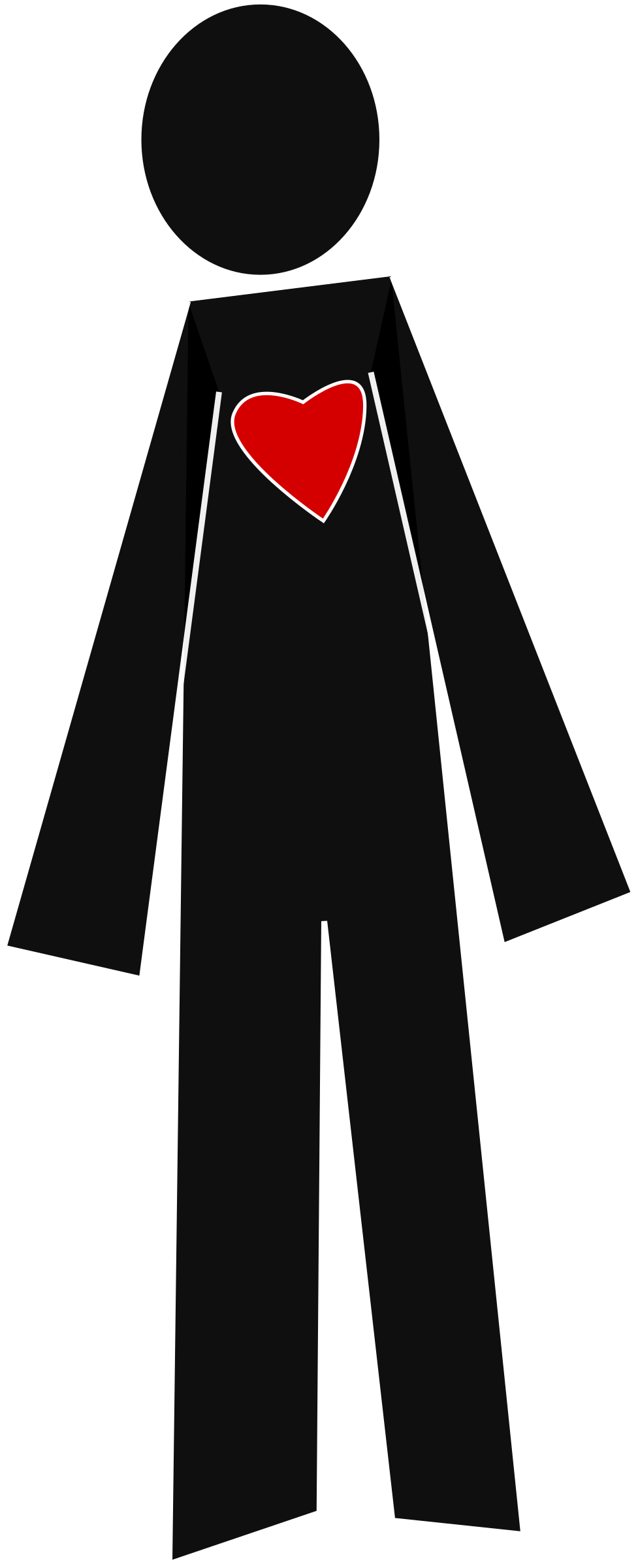 hight resolution of person clipart clipartmonk free clip art images