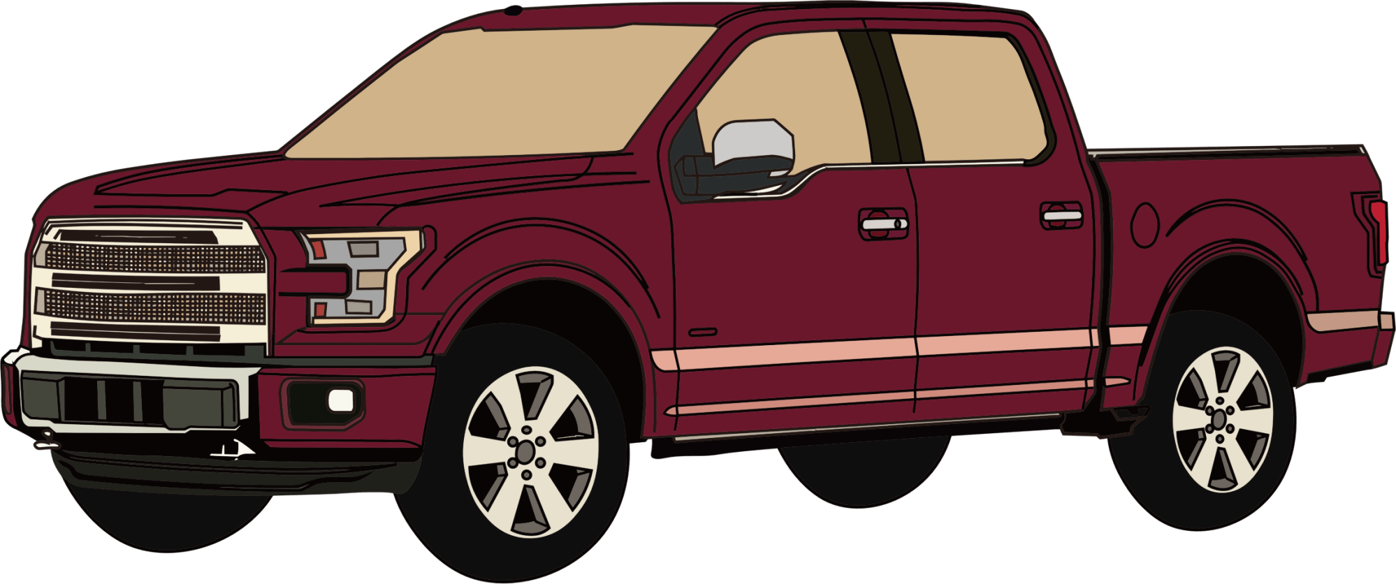 hight resolution of pickup truck clipart free images clipartix image