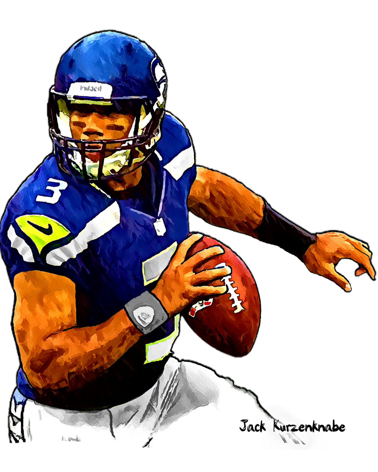 hight resolution of football player clip art at vector image clipartix