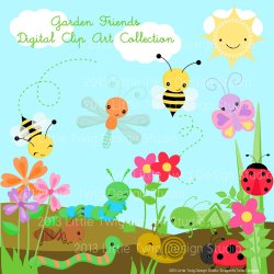 Garden clipart kid Cliparting com