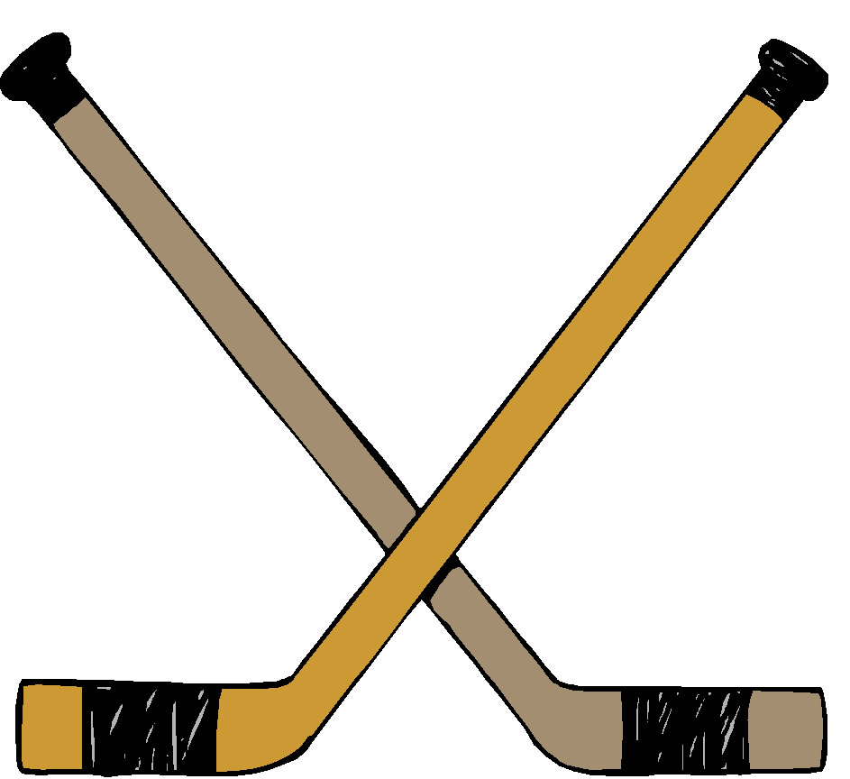 hight resolution of hockey clip art border free clipart images 4