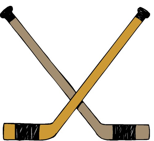 small resolution of hockey clip art border free clipart images 4