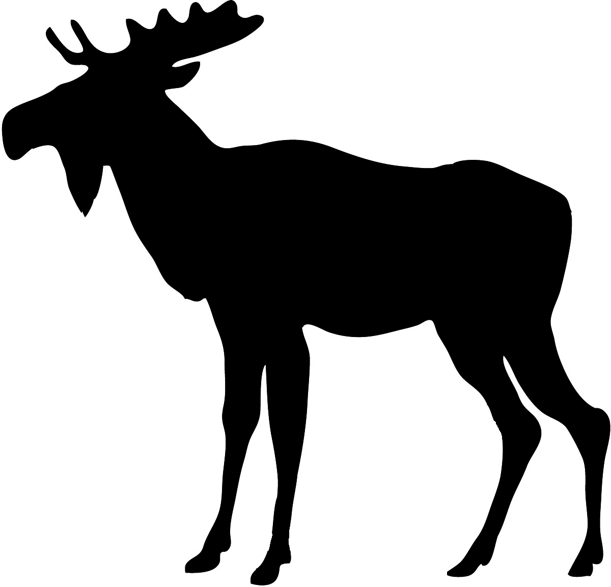hight resolution of image of moose clipart 9 clip art silhouette free