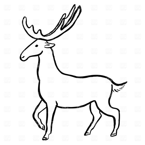 small resolution of moose clip art free wildlife clipart