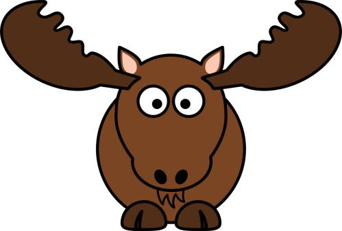 small resolution of moose clip art silhouette free clipart images clipartix