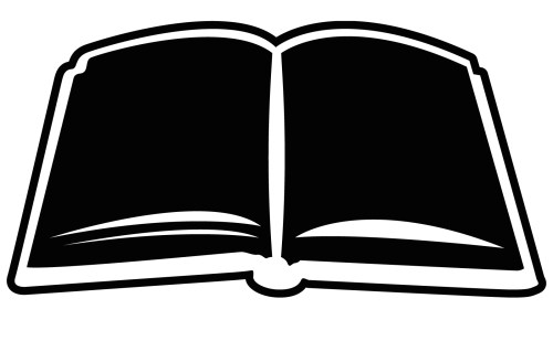 small resolution of open book clip art image 25778