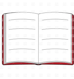 open book with blank pages objects download free clip art [ 1200 x 1200 Pixel ]