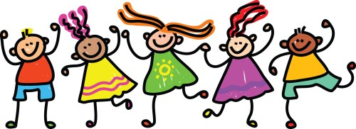 small resolution of preschool happy kids dancing clipart free images