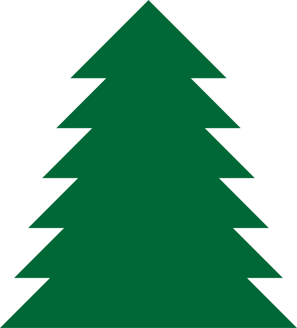 medium resolution of pine tree clipart a simple green tree