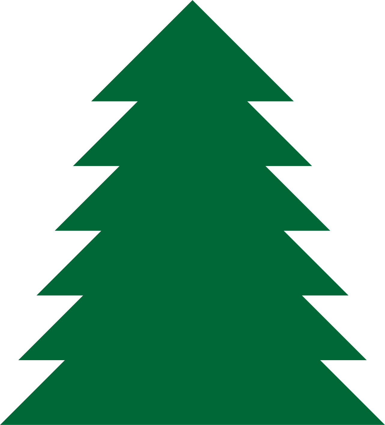 hight resolution of pine tree clipart a simple green tree
