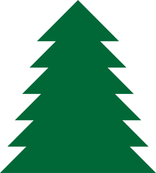 small resolution of pine tree clipart a simple green tree