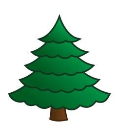 pine tree snow tree clipart kid [ 927 x 1200 Pixel ]