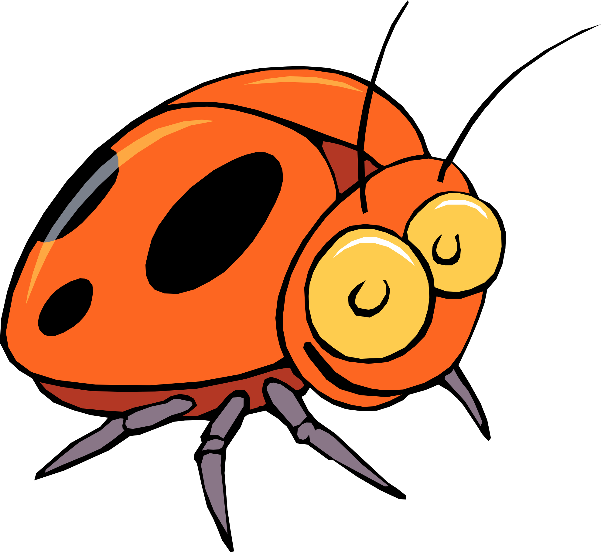 hight resolution of bug clipart image 30441