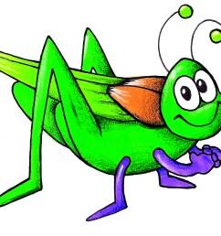 cricket bug clipart [ 1800 x 1200 Pixel ]