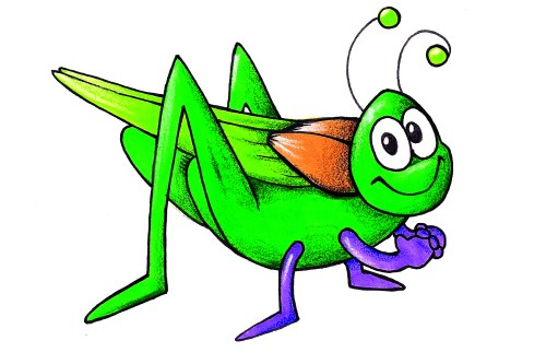 small resolution of cricket bug clipart