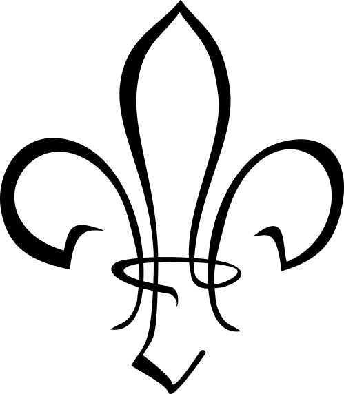 small resolution of fleur de lis boy scout clipart transparent clipartfest