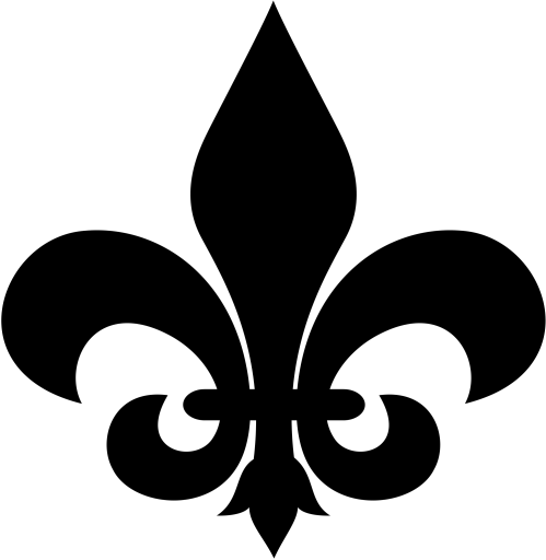 small resolution of fleur de lis clip art image 32583