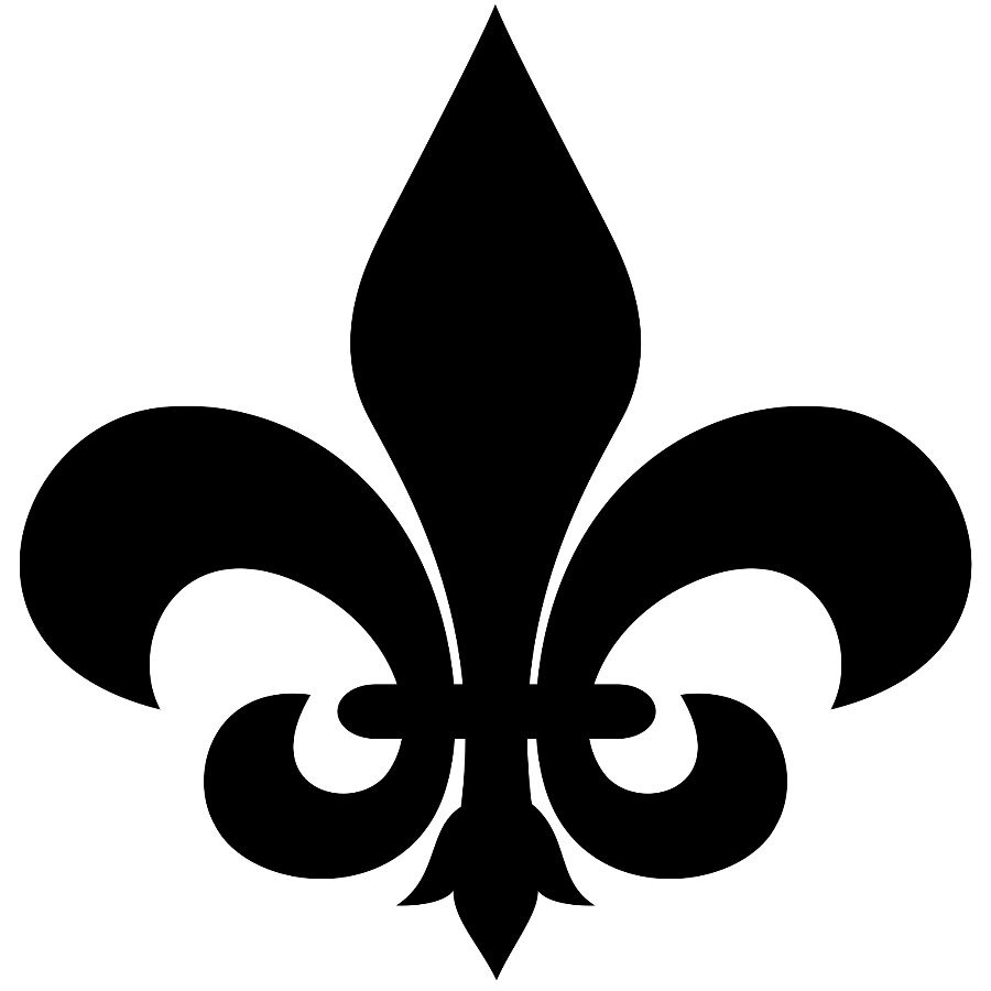 hight resolution of fleur de lis clip art image 32716
