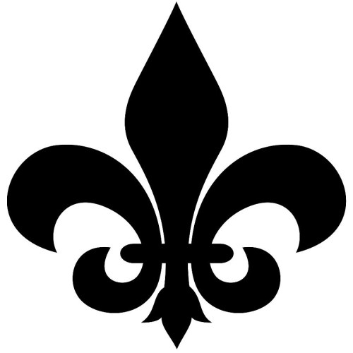 small resolution of fleur de lis clip art image 32716