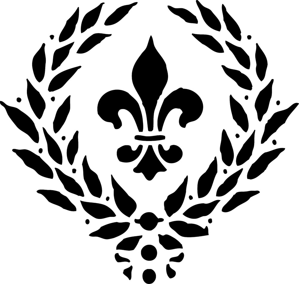 medium resolution of fleur de lis clip art image 32607