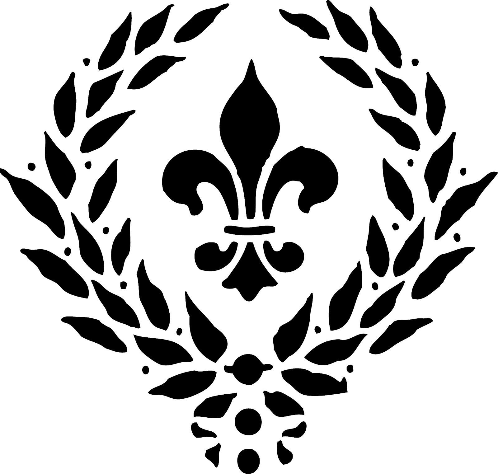 hight resolution of fleur de lis clip art image 32607
