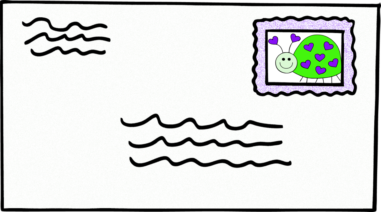 hight resolution of letter clipart image 32127