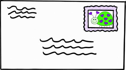 small resolution of letter clipart image 32127