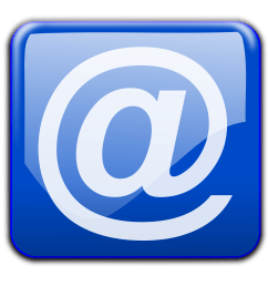 email clipart blue [ 2400 x 2272 Pixel ]